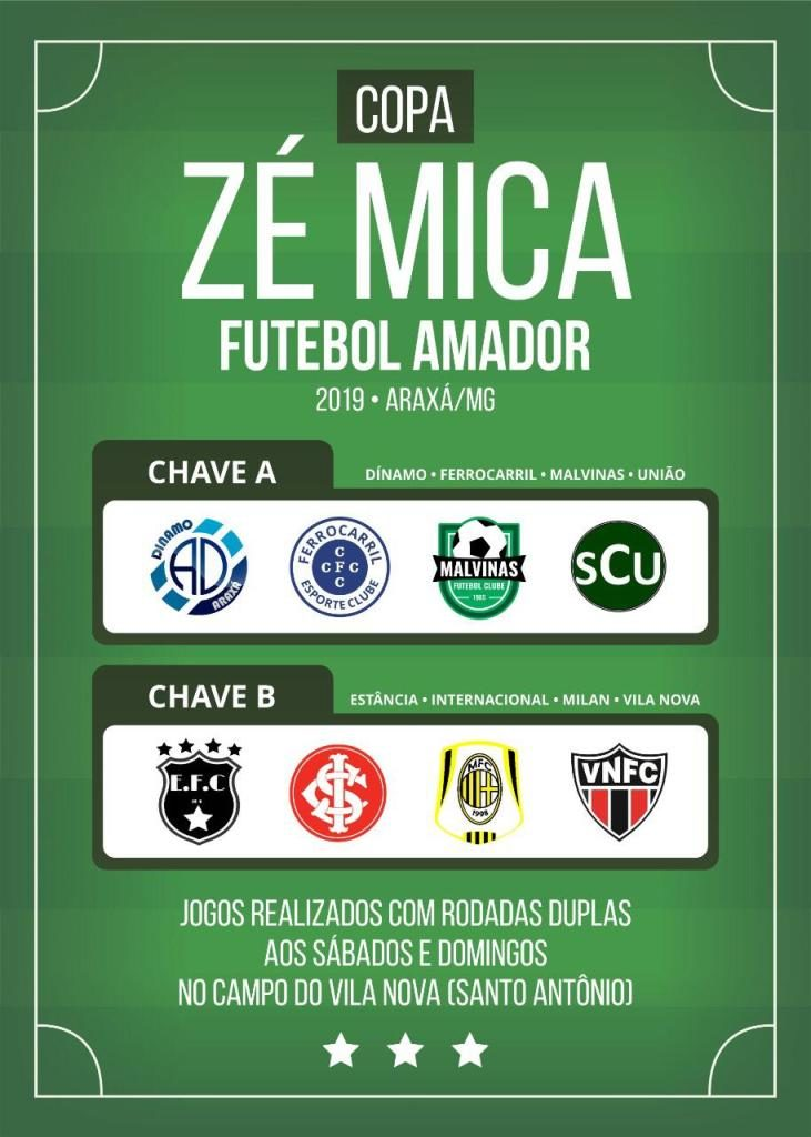 Agenda Esportiva: Final de semana para amistosos e início da Copa Zé Mica e do Ruralão