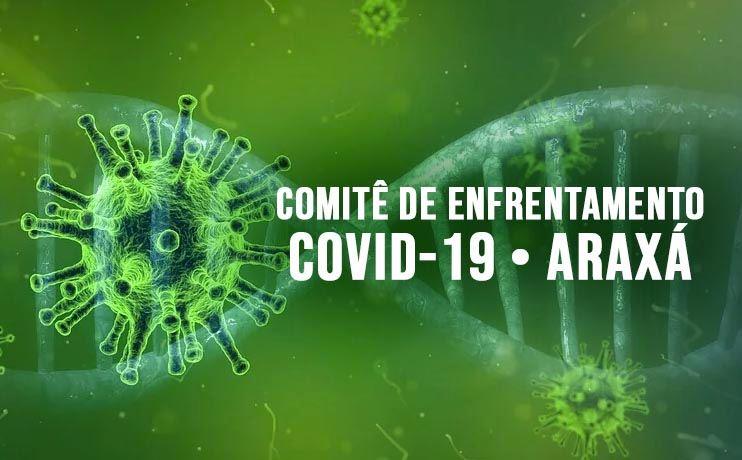 Coronavírus em Araxá: Acompanhe os boletins diários do Comitê de Enfrentamento ao Covid-19
