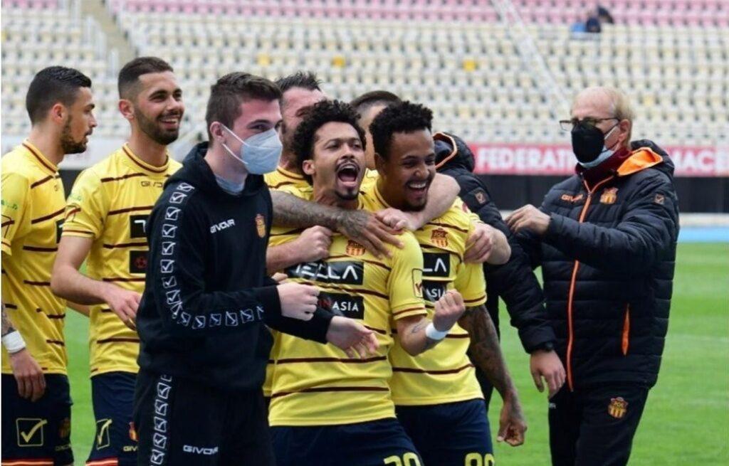 Fernando Augusto volta a marcar na Primeira Liga de Futebol da Macedônia